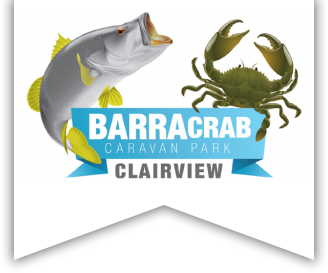 BarraCrab Caravan Park logo