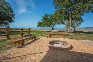 Firepit close to the beach