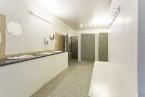 Shared bathroom facilities