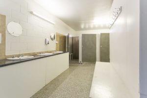 Shared bathroom facilities