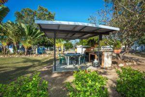 BBQ and picnic shelter at BarraCrab