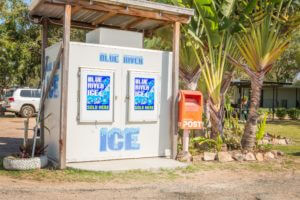 Ice and postbox for your convenience!